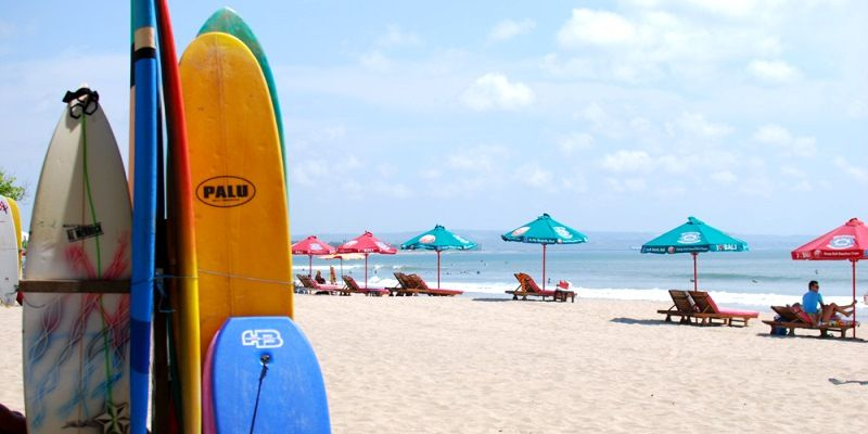 prices in bali for surfing