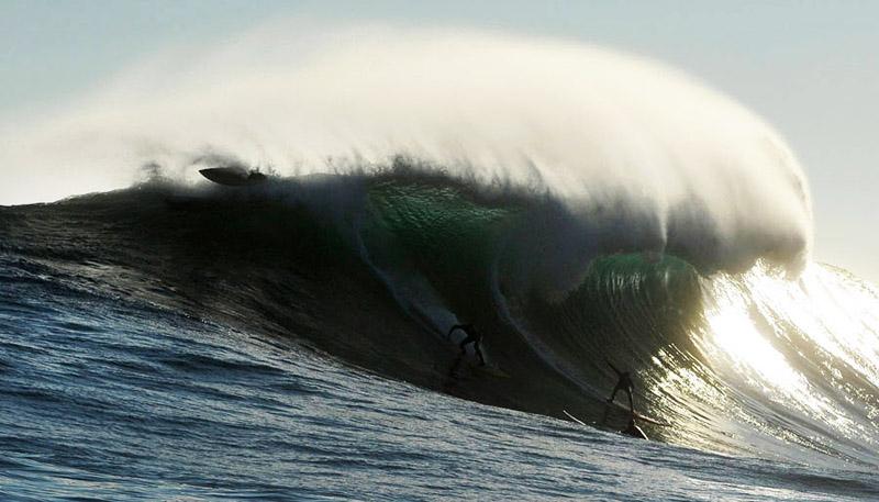 Самые большие волны для сёрфинга