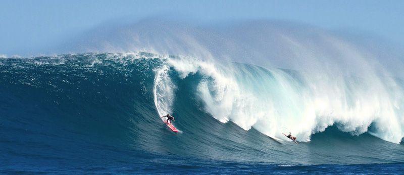 Самые большие волны для сёрфинга. Waimea