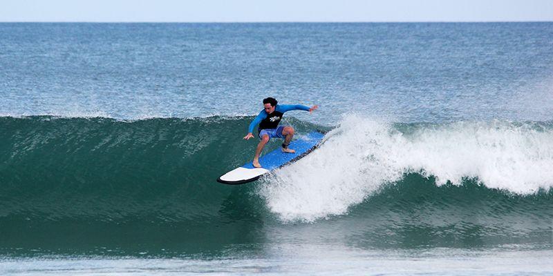 Отчёт о поездке в сёрф-кемп на Бали