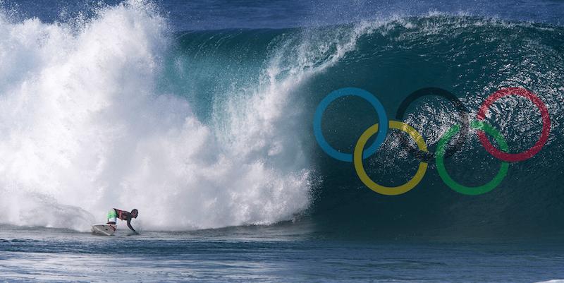 серфинг включен в Олимпийские игры