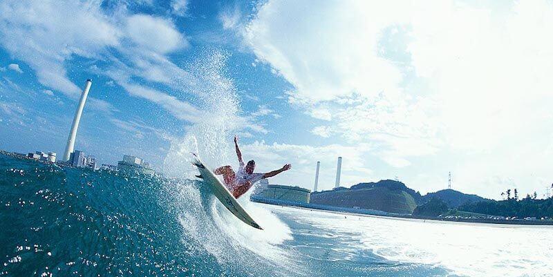 серфинг в японии