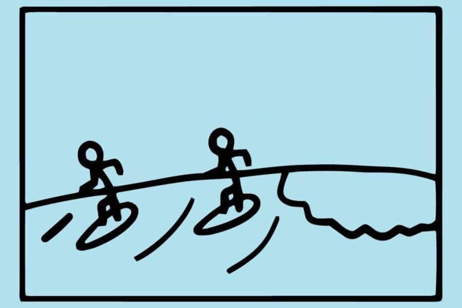 surf etiquete